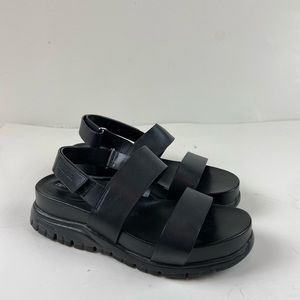 Cole Haan Zero Grand Slide Sandals Leather Strappy